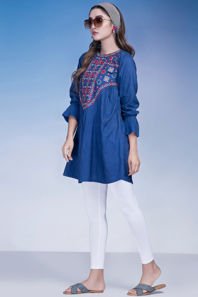 Warda Designer Collection - Single Shirt Solid Embroidery LS18960