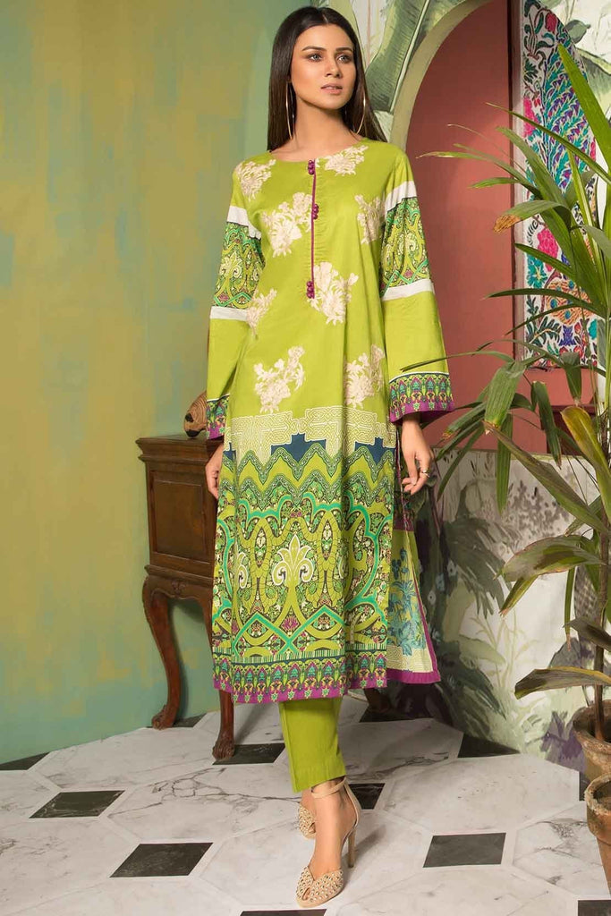 Warda Designer Collection - 2PC Lawn Embroidery with Trouser 259017A