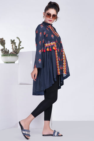 Warda Designer Collection - Single Shirt Fusion Embroidery LS19012