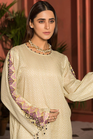 Warda Designer Collection - Single Shirt Lawn Print 1309124
