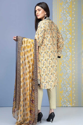 Warda Designer Collection - Single Shirt Lawn Print 2.5 Meters 1309303