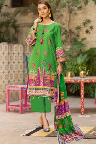 3PC Silk Karandi Embroidery 3820919