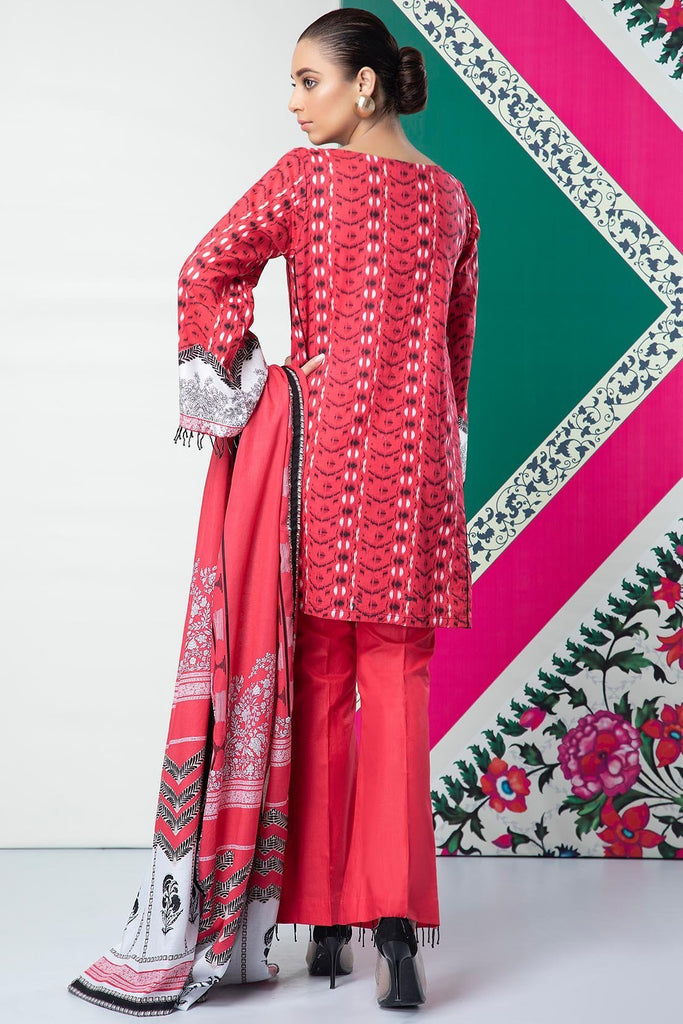 Warda Designer Collection - 3PC Lawn Embroidery 389240A