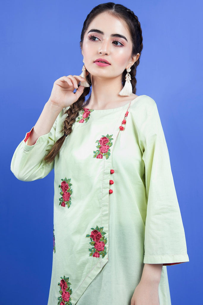Warda Designer Collection - Single Shirt Solid Embroidery LS19819