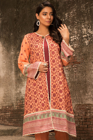 Warda Designer Collection - 2PC Linen Chikan Kari 2559730