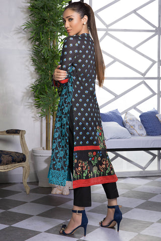 2PC Lawn Chikan Kari with Print (Trouser) 2559492