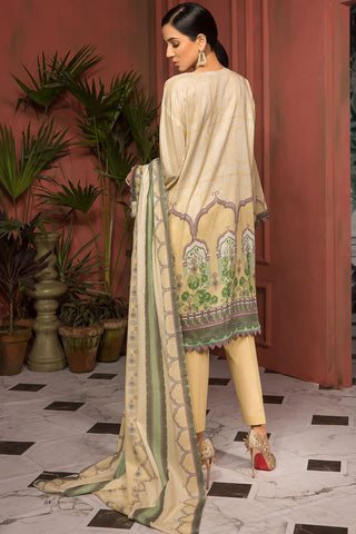 Warda Designer Collection - 3PC Lawn Print 389028A
