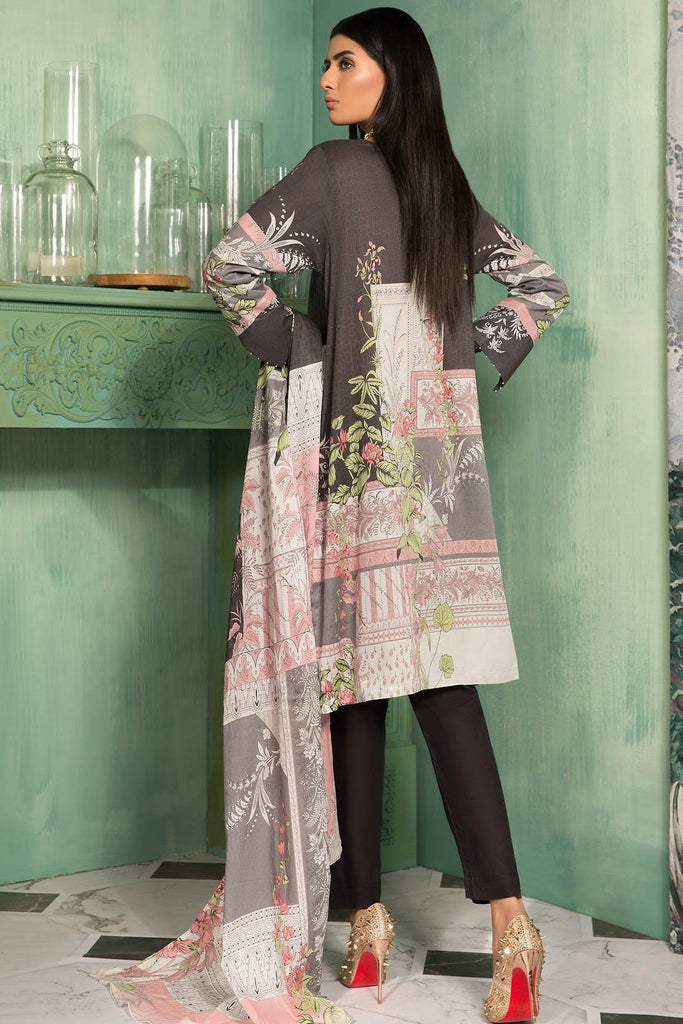 Warda Designer Collection - 3PC Lawn Print 3819023