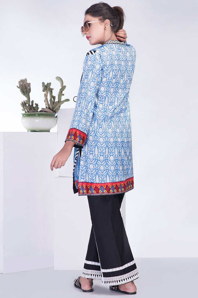Single Shirt Lawn Chikan Kari LS18311 - Pret - Warda Designer Collection