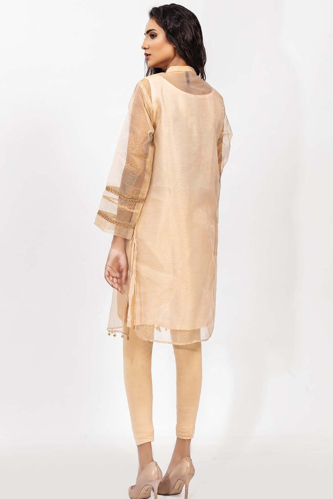 Stitched Single Shirt Embroidery with Inner Embelishement LPS1847 - Pret - Warda Designer Collection