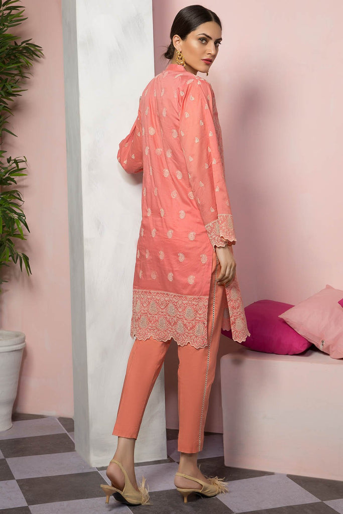 Warda Designer Collection - 2PC Lawn Chikan Kari with Trouser 2559489