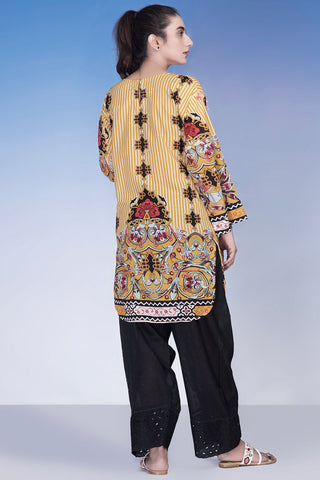 Warda Designer Collection - Single Shirt Lawn Embroidery LS18217