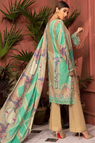 Warda Designer Collection - 3PC Lawn Print with Dupatta 3819050