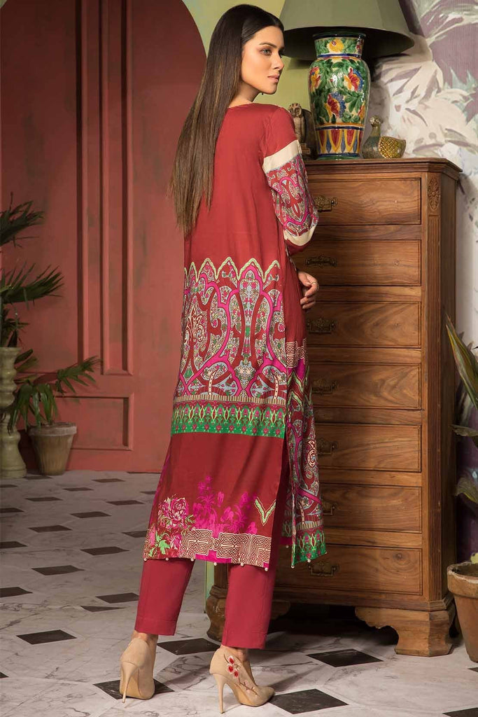 Warda Designer Collection - 2PC Lawn Embroidery with Trouser 2559017