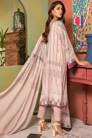 Warda Designer Collection - 3PC Lawn Embroidery 389057A