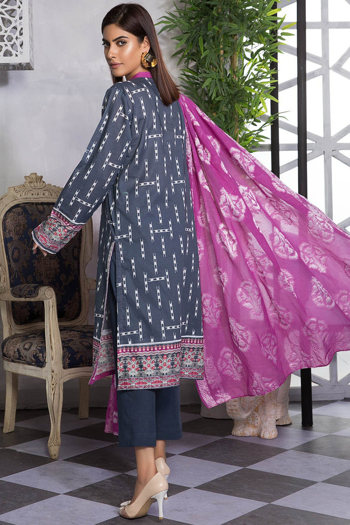 Warda Designer Collection - 2PC Lawn Shirt with Jacquard Dupatta 2559509