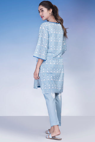 Single Shirt Lawn Chikan Kari LS18248 - Pret - Warda Designer Collection