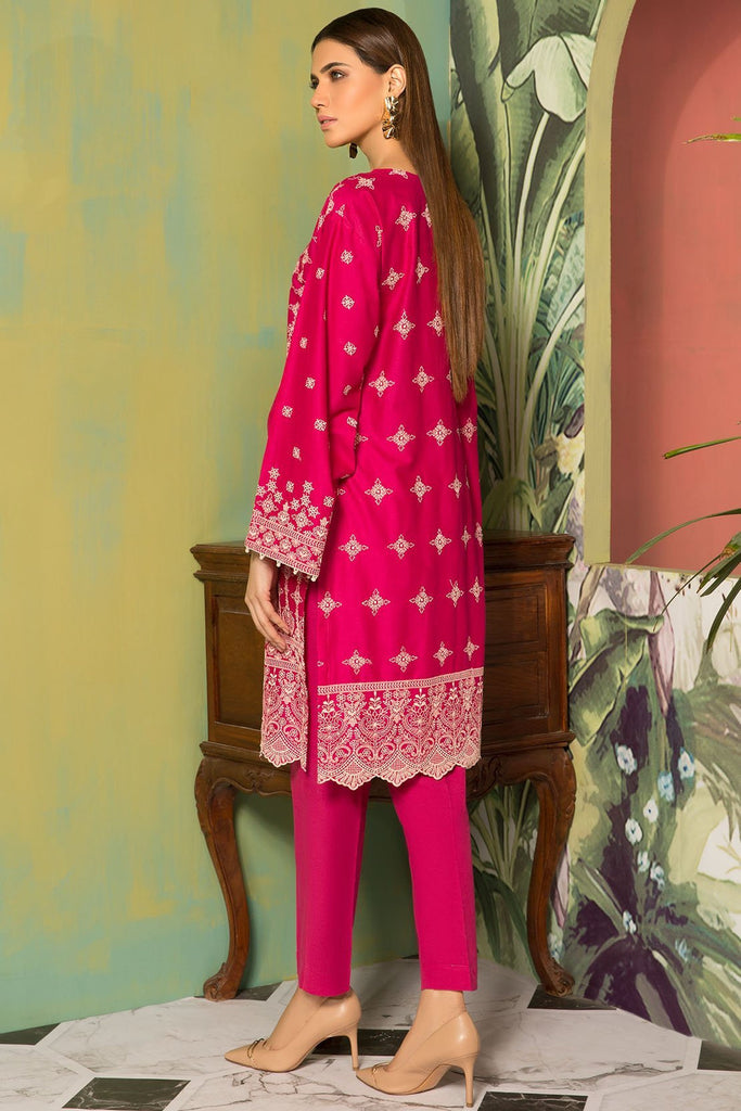 Warda Designer Collection - Single Shirt Lawn Chikan Kari 1309141