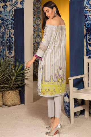 Warda Designer Collection - 3PC Lawn Print 3819021