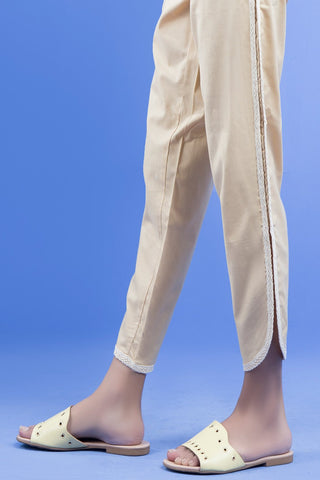 Warda Designer Collection - Dyed Trouser (with Cut) LS19251