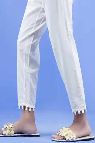 Warda Designer Collection - Dyed Trouser (with Cut) LS19148