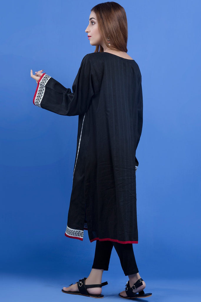 Warda Designer Collection - Single Shirt Fusion Embroidery LS19011