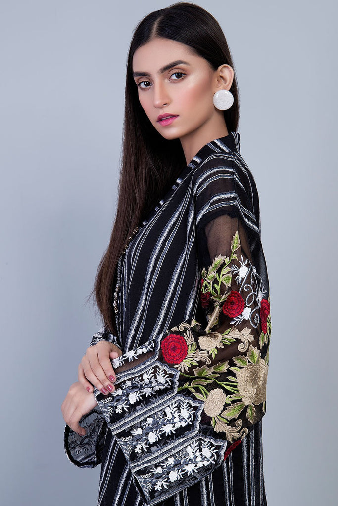 Warda Designer Collection - Formal Embroidered Shirt with Inner LPS1838