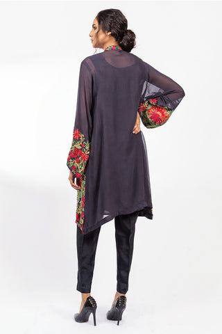 Warda Designer Collection - Stitched Formal Shirt with Inner LPS1859
