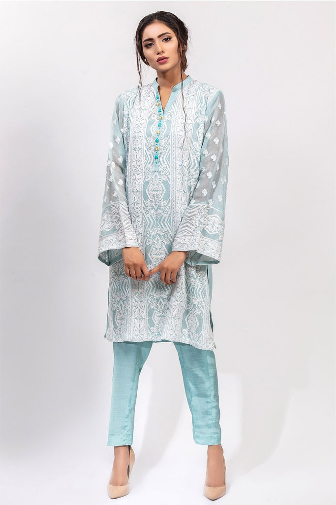 Warda Designer Collection - Stitched Formal Shirt with Inner LPS1861