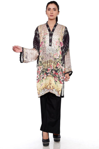 Warda Designer Collection - Single Shirt Silk LPSS734