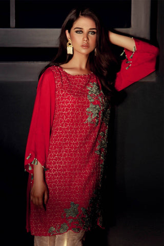 Warda Designer Collection - Stitched Single Shirt Formal Embroidery LPSS756