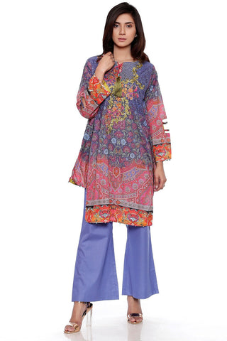 Warda Designer Collection - 3PC Digital Chiffon Lawn Embroidery LS17112