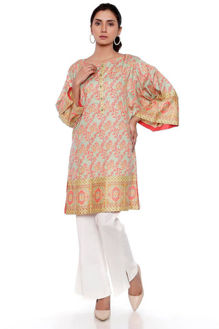 Single Shirt Lawn Print LS17270 - Pret - Warda Designer Collection