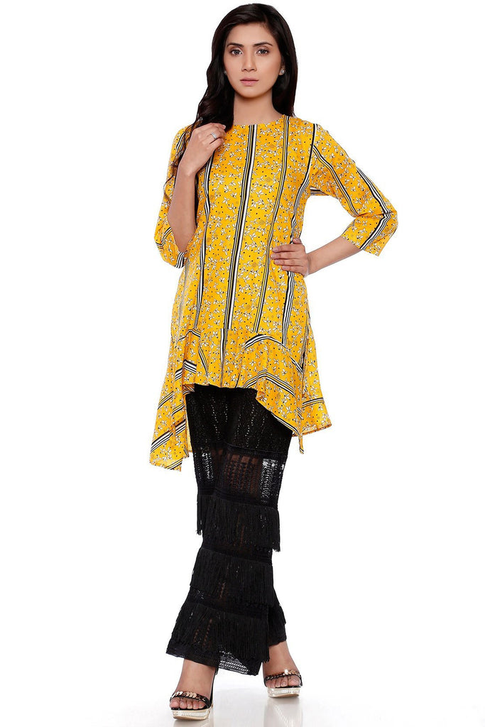 BOLD Single Shirt Lawn Print LS18020 - Pret - Warda Designer Collection