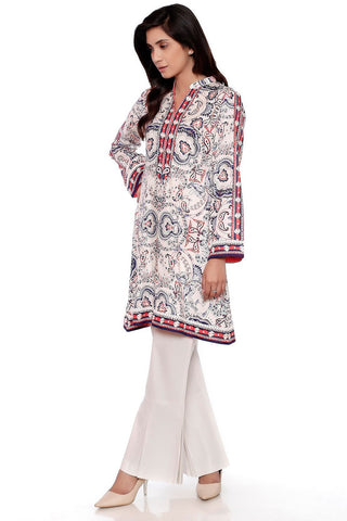Single Shirt Lawn Print LS18027 - Pret - Warda Designer Collection