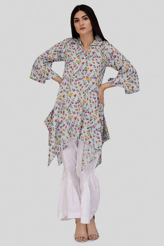 Bold Single Shirt Lawn Print LS18031 - Pret - Warda Designer Collection