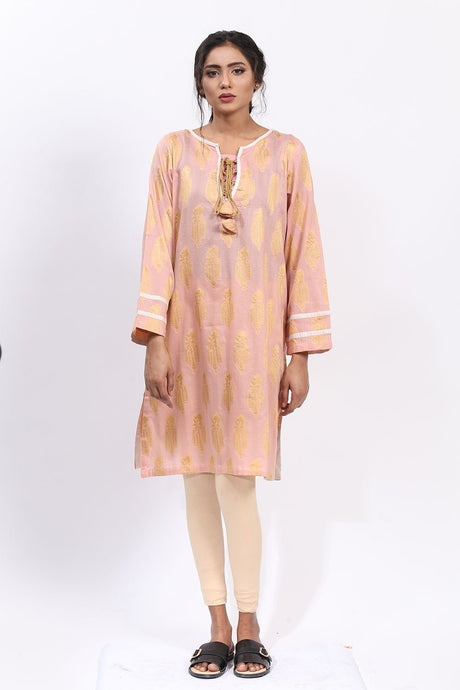Single Shirt Jacquard LS18093 - Pret - Warda Designer Collection