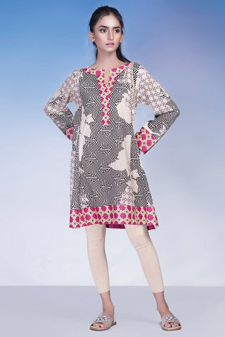 Single Shirt Lawn Print LS18116