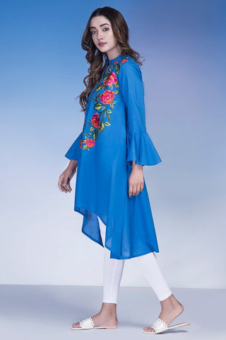 Warda Designer Collection - Single Shirt Solid Embroidery LS18176