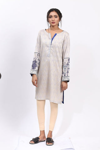 Single Shirt Jacquard Embroidery  LS18193