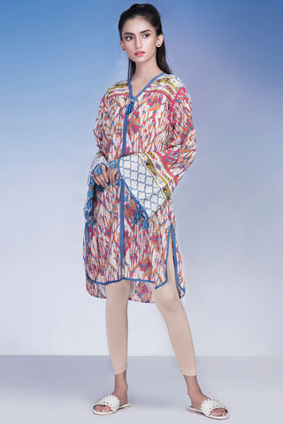 Single Shirt Lawn Print LS18228 - Pret - Warda Designer Collection