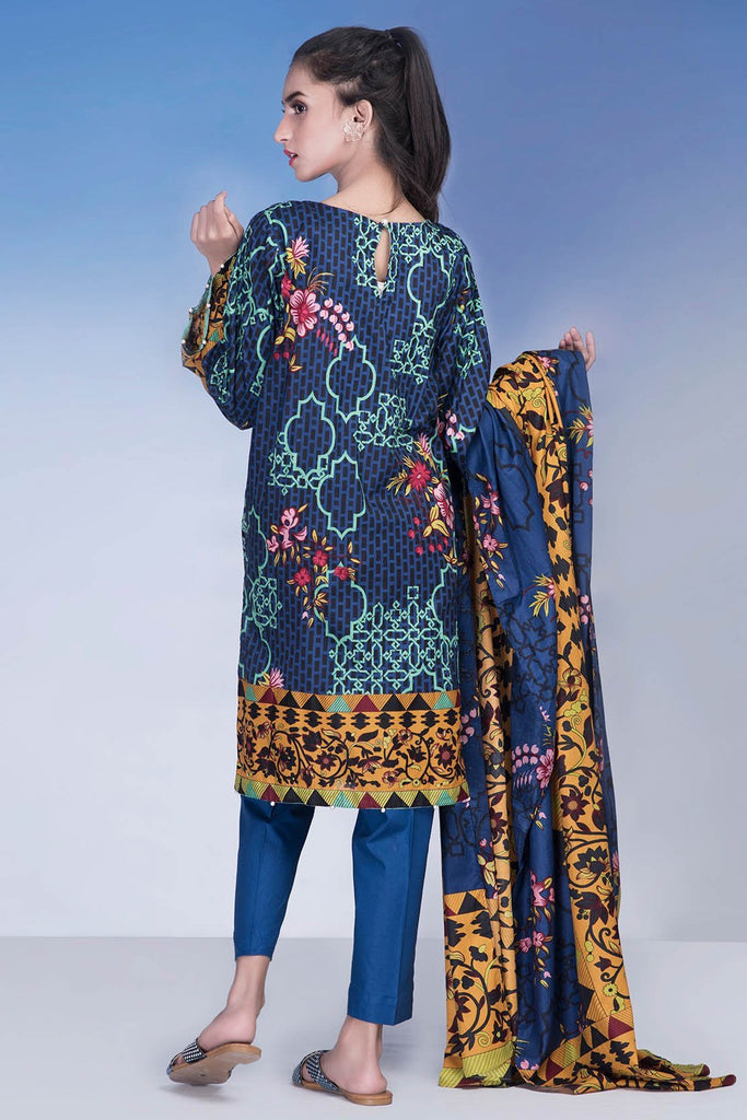 Pret - 3PC Lawn Chikan Kari LS18231 - Warda Designer Collection