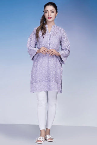 Single Shirt Lawn Chikan Kari LS18315