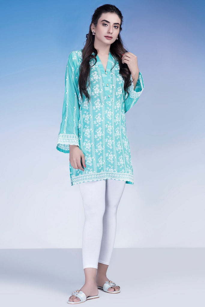Single Shirt Chikan Kari LS18872 - Pret - Warda Designer Collection