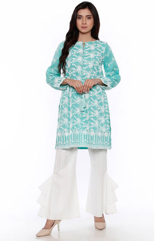 Warda Designer Collection - Single Shirt Chikan Kari LS18905