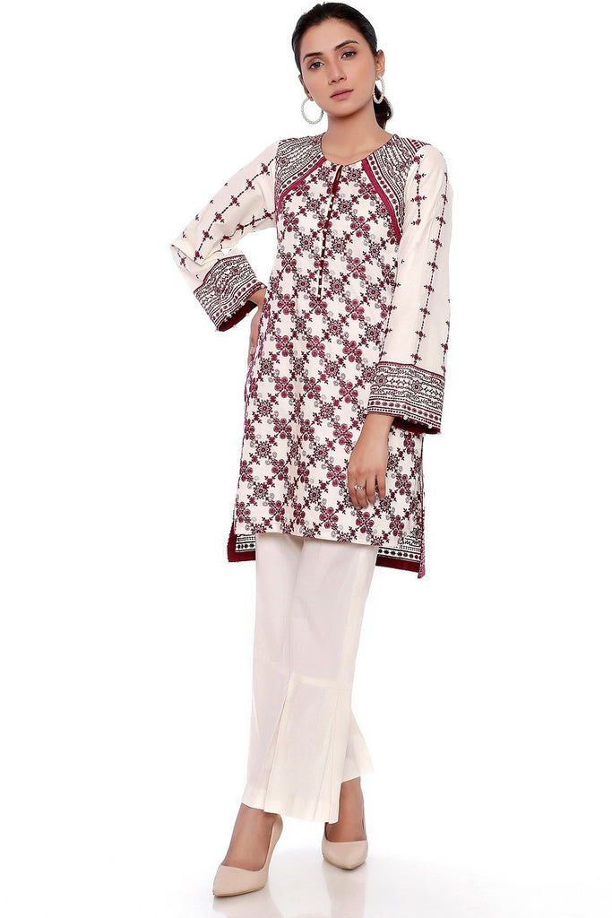 Warda Designer Collection - Single Shirt Chikan Kari LS18909