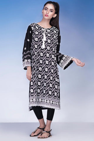Warda Designer Collection - Single Shirt Solid Chikan Kari Solid Chikan Kari LS18924