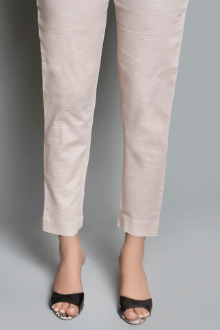 Dyed Trouser Solid LS19047 - Bottoms - Warda Designer Collection