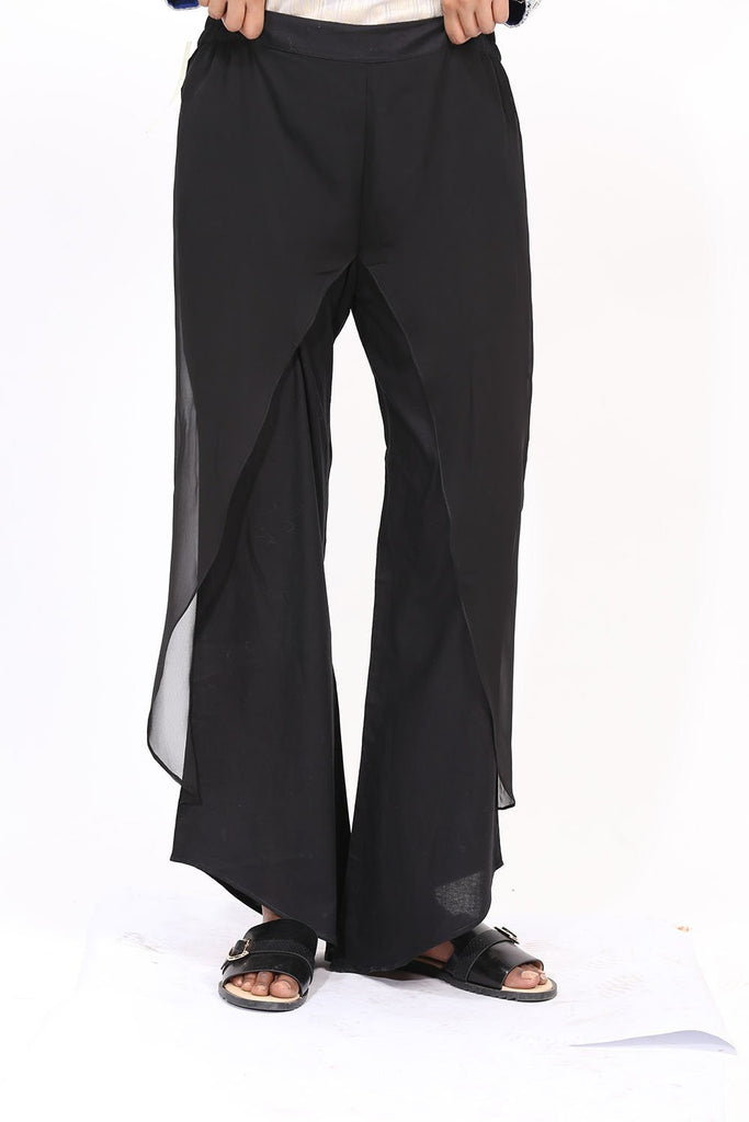 Warda Designer Collection - Dyed Trouser (With Cut) LS19052