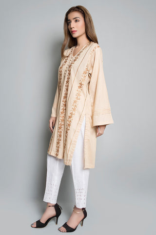 Warda Designer Collection - Single Shirt Solid Embroidery Solid Embroidery LS19813